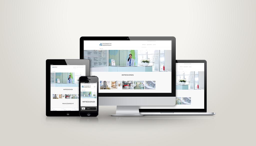 Neugestaltung Webauftritt (responsive)