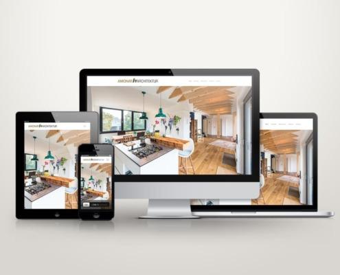 Webdesign Amonat Architektur